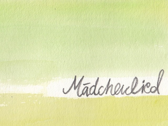 Maedchenlied